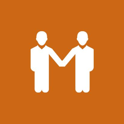 Jaarverslag 2014 - Icoon naar collega's in 2014